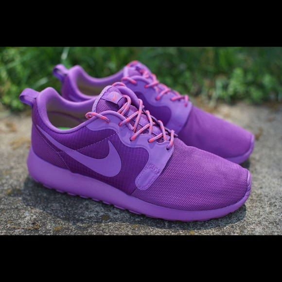 newest f987b 68cf9 Nike Shoes - Women s Purple Nike Roshes